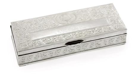 A MALAYSIAN CIGARETTE BOX