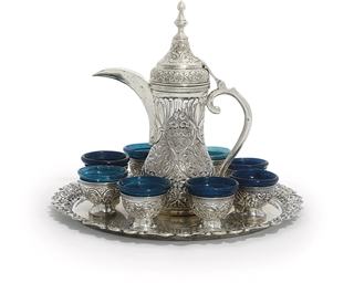 AN EGYPTIAN COFFEE-SERVICE