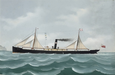 The general cargo steamer Brat