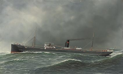 The steamship Clan Farquhar in
