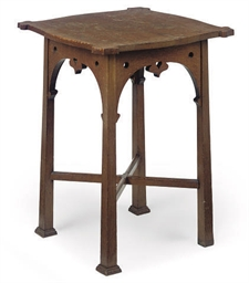 A LATE VICTORIAN OAK OCCASIONA