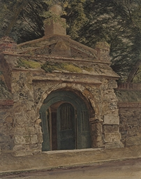 The gateway at Merton Abbey