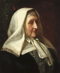 Portrait of Mrs Elizabeth Clab