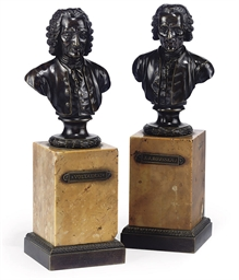 A PAIR OF LOUIS-PHILIPPE BRONZ