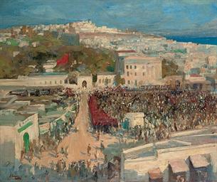 The Moorish Flag, Hoisted on t