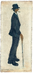 Figure Study II (man with pipe