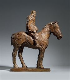Horse and Rider (robed)