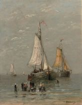 The arrival of the fishing-fleet