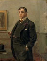 A portrait of Mr. H.J. van Ogt