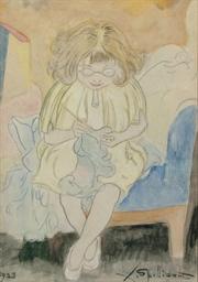 Madeleine Spilliaert, the daug