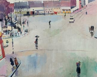 Place sous la pluie: Place Sai