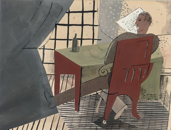 La lecture: a man reading