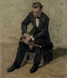 Lucien Chardon seated