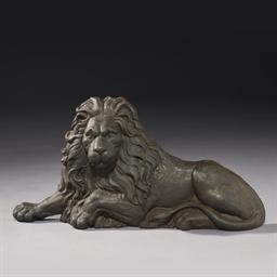 MODELE DUN LION COUCHE