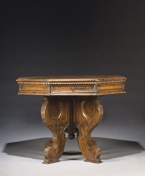 TABLE DE STYLE BAROQUE, COMPOS