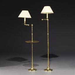 DEUX LAMPES DE LECTURE
