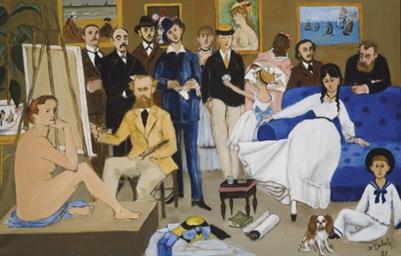 L'atelier d'Edouard Manet