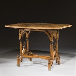 TABLE DE STYLE NEOGOTHIQUE