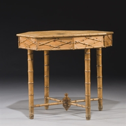 TABLE DE MILIEU VERS 1900