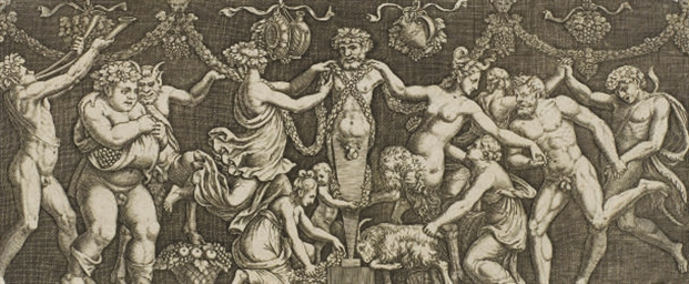 Sacrifice à Priape d'après Giu