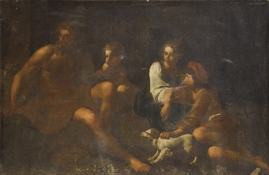 Herminie et les bergers: un fr