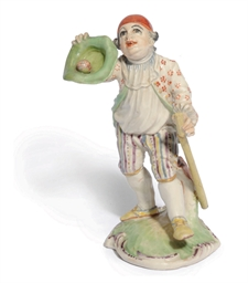 A KELSTERBACH FIGURE OF A BOY