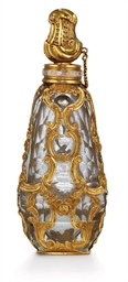 A GEORGE III GOLD-MOUNTED GLAS