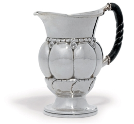 A DANISH WATER-PITCHER DESIGNE