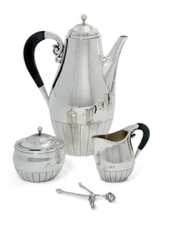 A DANISH FOUR-PIECE COFFEE-SER