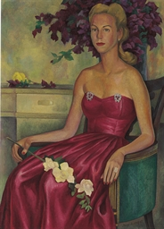 Portrait of Muriel Shirley Lip
