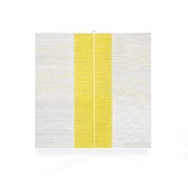 Tríptico con amarillo
