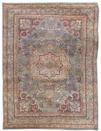 A fine Kirman Laver carpet