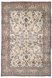 A fine Yezd carpet