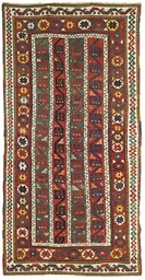 Antique Genje rug