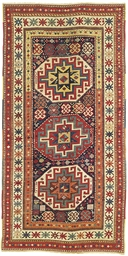 Antique Moghan rug