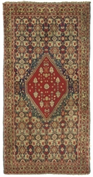An atique small Agra carpet