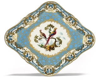 A SEVRES (LATER DECORATED) TUR