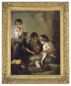 After Bartolom 233 Esteban Murillo Young Boys Playing Dice