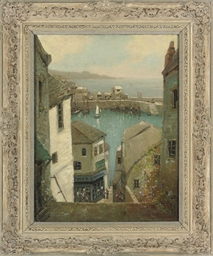 A Cornish harbour