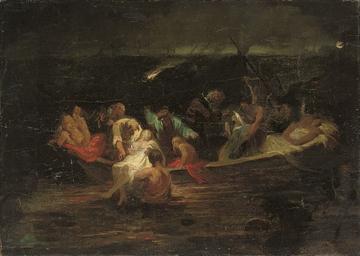 The escape from Scias