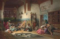 The Nubian Story Teller in the Harem