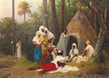 El Hiasseub, Conteur arabe