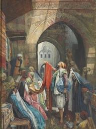A Cairo Bazaar; The Dellál