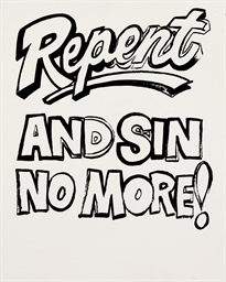 Repent and Sin No More! (Posit