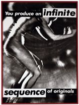 Untitled (you produce an infinite sequence of originals)