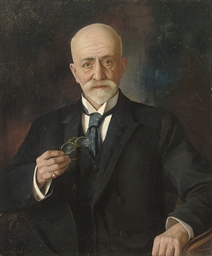 Portrait of Nissim Levy Esq.,