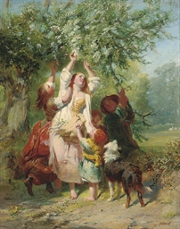 Blossom gatherers