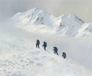 Pushing for the summit, the Fi