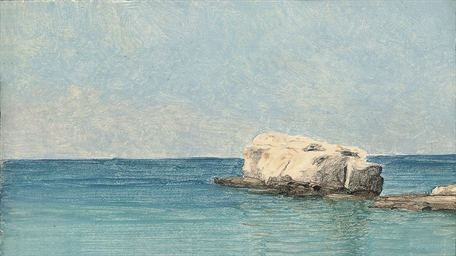 Seascape with rock, Capri