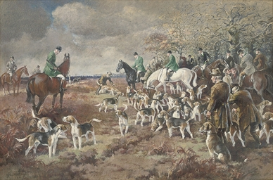 The New Forest Buckhounds, the